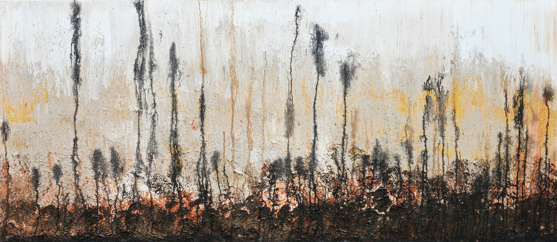 Tiny De Bruin - Landscape in earthly tones