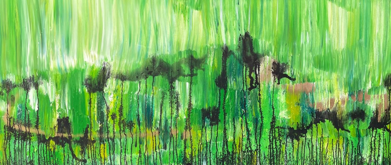 Tiny De Bruin - Landscape in green